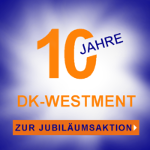 Firmenjubiläum - 10 Jahre DK-WESTMENT