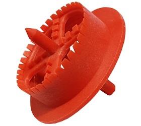 Produktbild: Rondellenfräser aus PVC für EPS / Styropor Dämmplatten