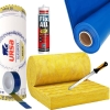 Kategorie- / Produktbild: Komplettpaket URSA 032 Klemmfilz Glaswolle