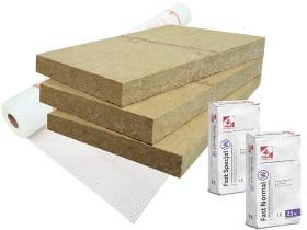 Produktbild: Basispaket Rockwool Frontrock Super - 4 Produkte
