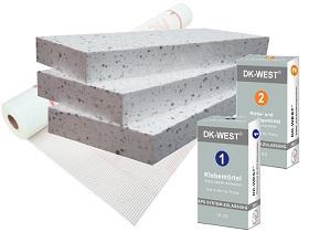 Kategorie- / Produktbild: Basispaket EPS - WLG 040 - 4 Produkte