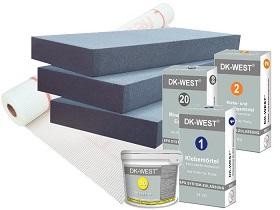 Kategorie- / Produktbild: Komplettpaket EPS mit NEOPOR - WLG 032 - 8 Produkte