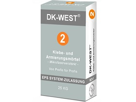 Produktbild: Klebe- & Armierungsmörtel für EPS Fassadendämmplatten - weiß