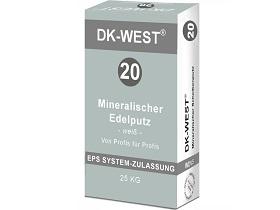 Kategorie- / Produktbild: Mineralischer Scheibenputz, Sackware