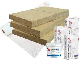 Kategorie- / Produktbild: Komplettpaket Rockwool Frontrock Super - 8 Produkte