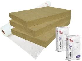 Kategorie- / Produktbild: Basispaket ROCKWOOL Frontrock Plus - 4 Produkte
