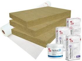 Kategorie- / Produktbild: Komplettpaket Rockwool Frontrock Plus - 8 Produkte
